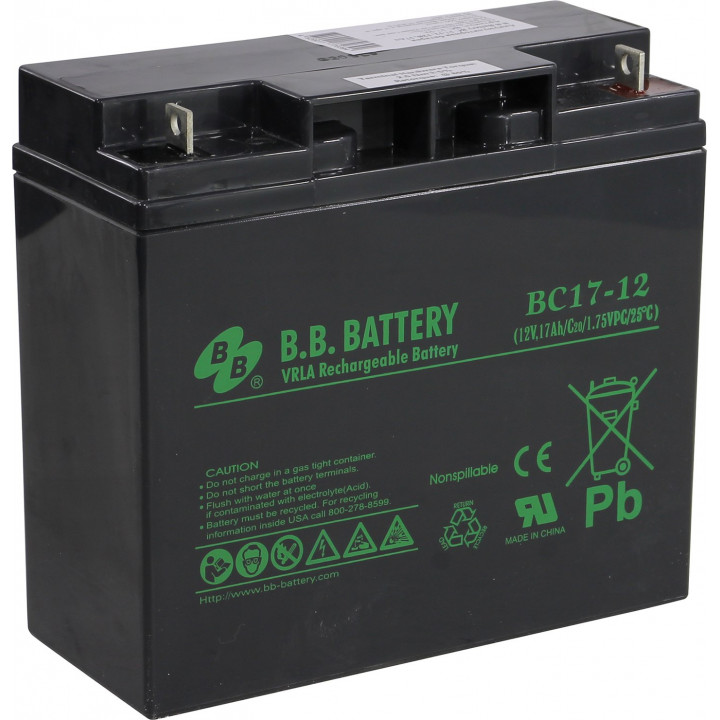 BB Battery BC 17-12
